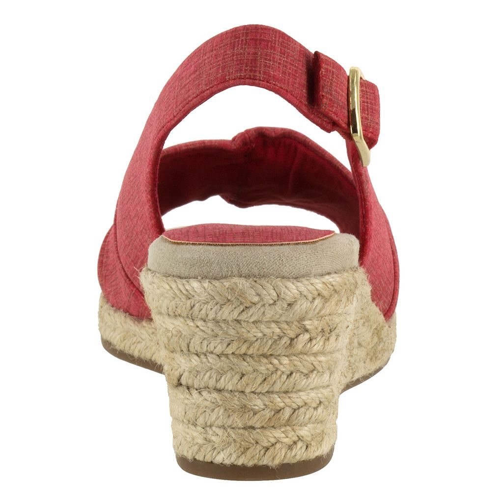 Easy Street Kindly Women's Espadrille Wedge Sandals
