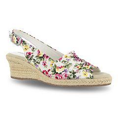 Easy Street Kindly Women's Espadrille Wedge Sandals
