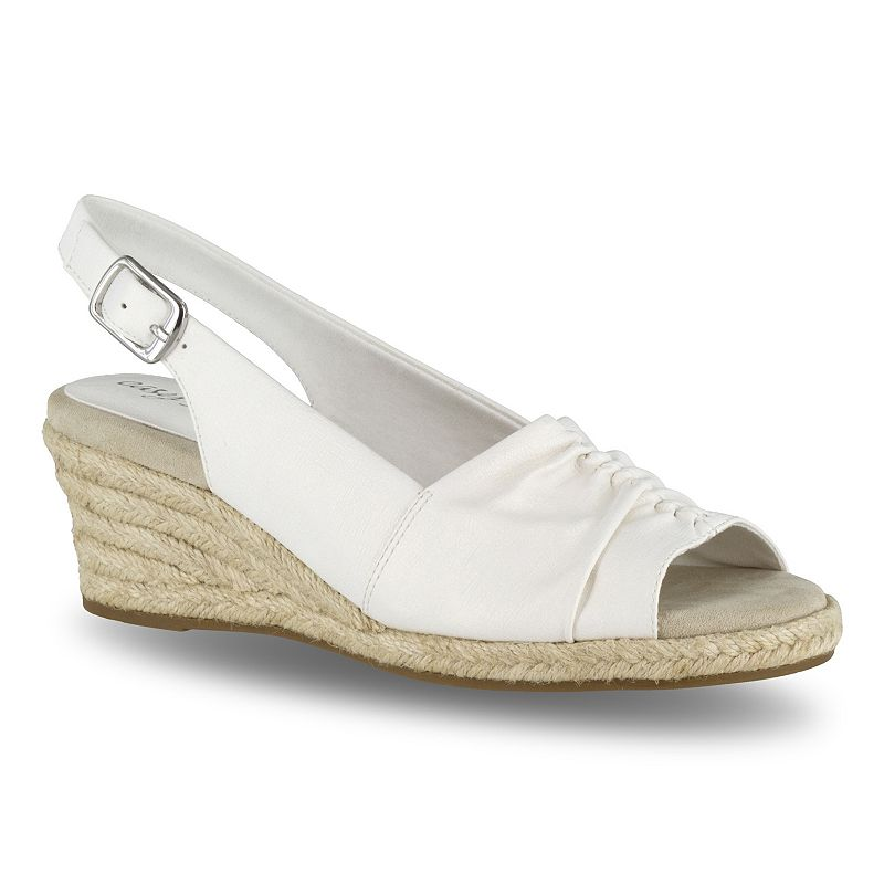 Easy Street Kindly Women s Espadrille Wedge Sandals 8b2c4301d