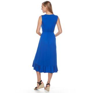 Women's Apt. 9® Ruffle Faux-Wrap Midi Dress
