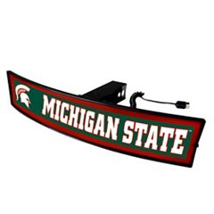 FANMATS Michigan State Spartans Light Up Trailer Hitch Cover