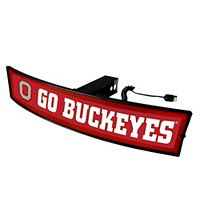 FANMATS Ohio State Buckeyes Light Up Trailer Hitch Cover