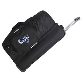 Los Angeles Rams 27-Inch Wheeled Drop-Bottom Duffle Bag