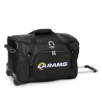 Los Angeles Rams 22-Inch Wheeled Carry-On Duffle Bag