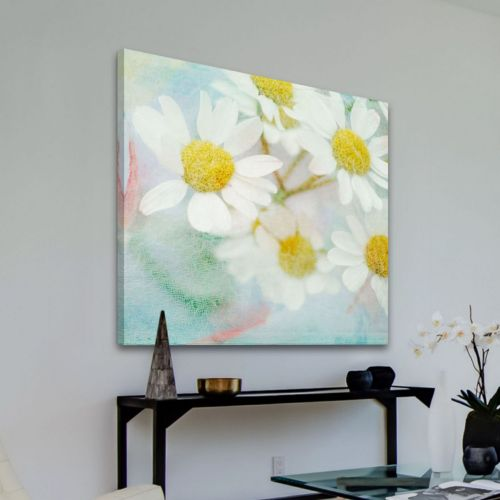 Marmont Hill White Daisy Canva...