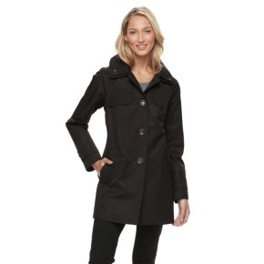 Women's Towne by London Fog Button-Down Jacket