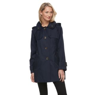 Women's Towne by London Fog Button-Down Jacket