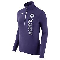 Women's Nike Clemson Tigers Element Pullover