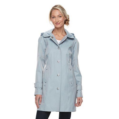 Women's Towne by London Fog Hooded Walker Jacket