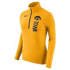 Women's Nike Iowa Hawkeyes Element Pullover