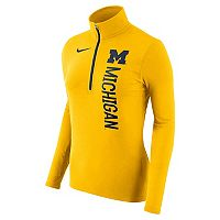 Women's Nike Michigan Wolverines Element Pullover
