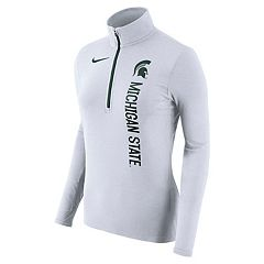 Women's Nike Michigan State Spartans Element Pullover