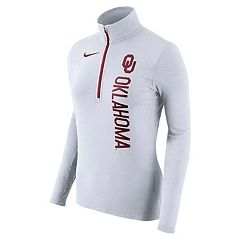 Women's Nike Oklahoma Sooners Element Pullover