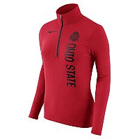 Women's Nike Ohio State Buckeyes Element Pullover