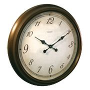 Chaney Bronze Wall Clock