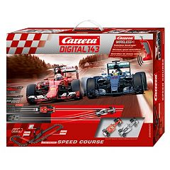 Carrera Speed Course Digital Slot Car & Wireless Remote Race Set by