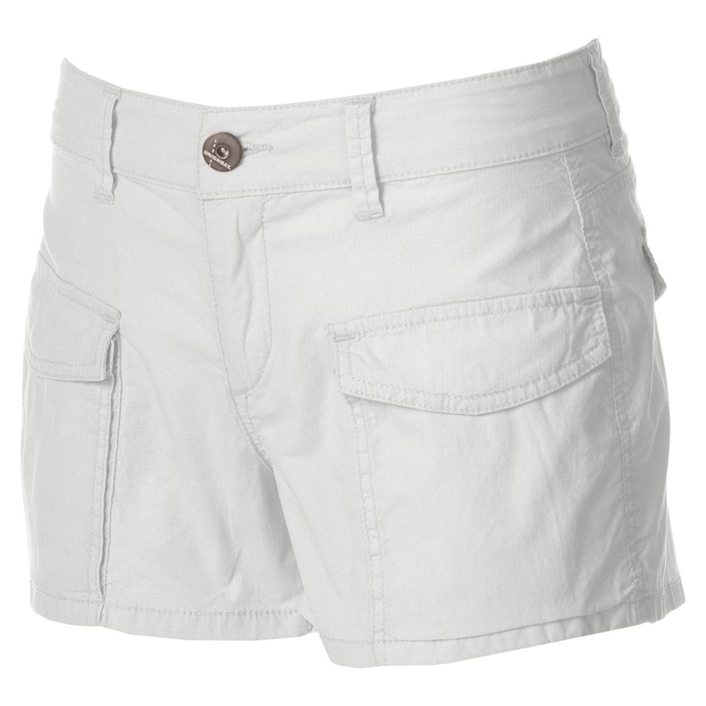 Juniors' Unionbay Tristin Ripstop Shortie Shorts