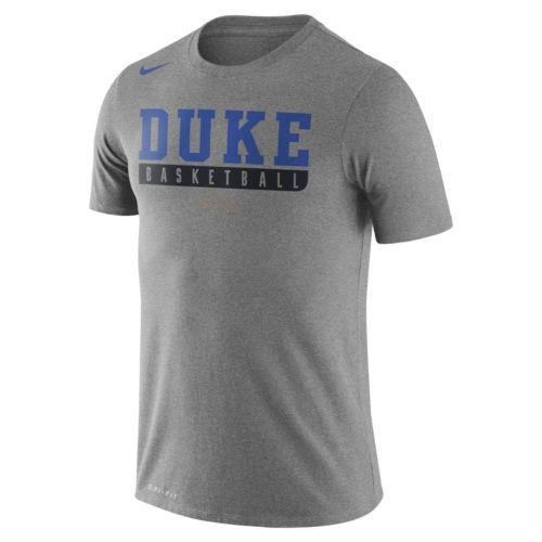 Men's Nike Duke Blue Devils Basketball Practice Dri-FIT Tee