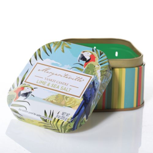 Margaritaville® Collection by Yankee Candle Lime & Sea Salt 9-oz. Tin Candle Jar