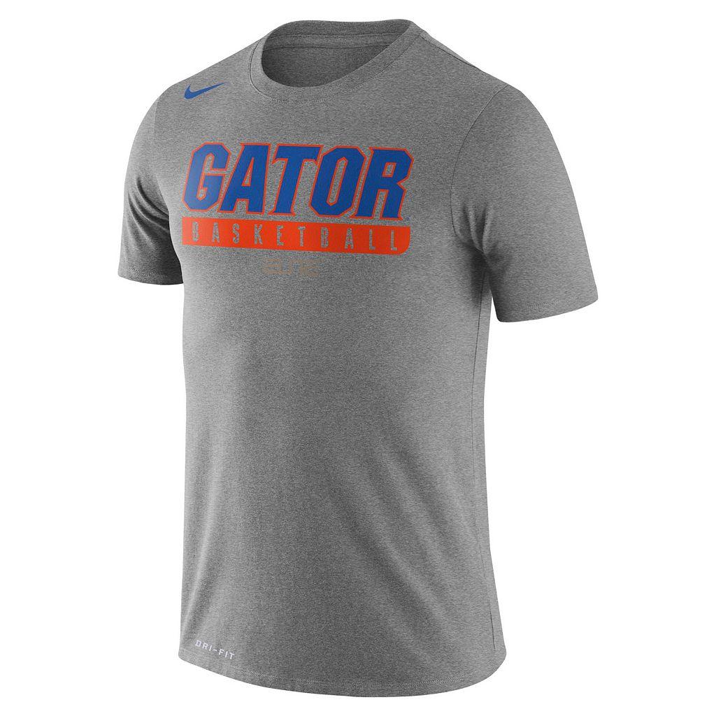 Men's Nike Florida Gators Basketball Practice Dri-FIT Tee