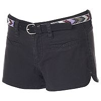 Juniors' Unionbay Layla Solid Shortie Shorts