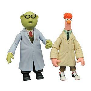 Diamond Select Toys Muppets Select Action Figure Series 2 Beaker & Bunsen Action Figures