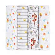 aden by aden + anais 4 pkWinnie the Pooh Swaddling Wraps