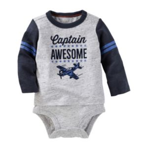 Baby Boy OshKosh B'gosh® Mock-Layer Graphic Bodysuit