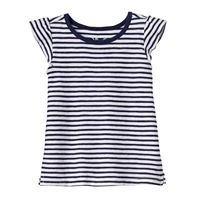 Baby Girl Jumping Beans® Striped Slubbed Tee