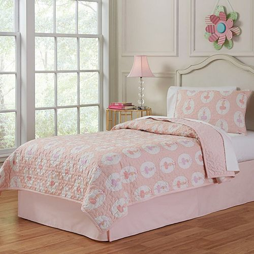 Ballerina Cotton Percale Quilt Set