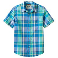Boys 8-20 Urban Pipeline® Plaid MaxFlex Button-Down Shirt