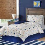 Space Cotton Percale Comforter Set