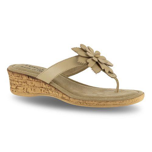 Tuscany by Easy Street Gilda Women's Wedge Sandals