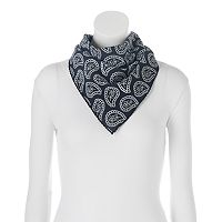 SONOMA Goods for Life™ Paisley Stitched Bandana Square Scarf