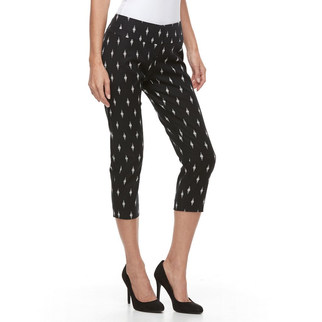 Petite Apt. 9® Torie Modern Fit Capri Dress Pants