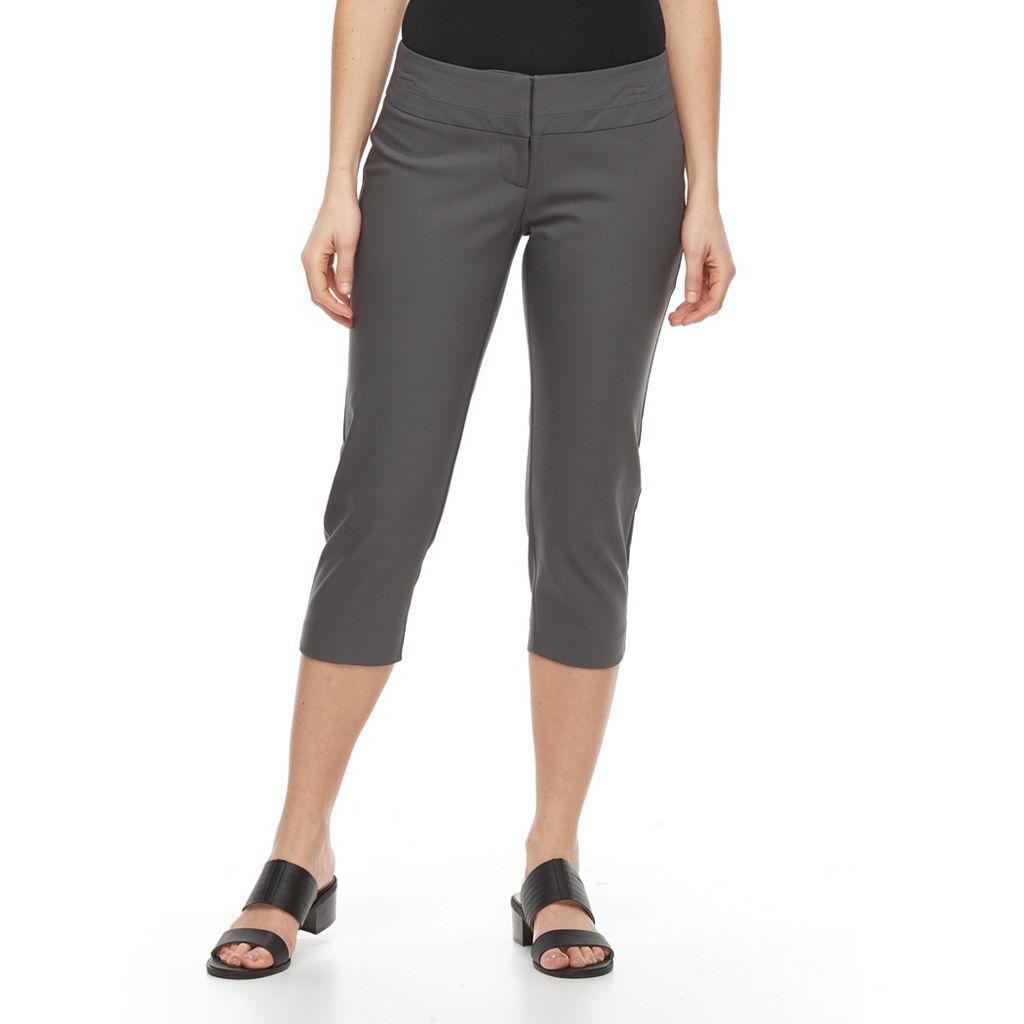 Petite Apt. 9® Torie Modern Fit Capri Dress Pants