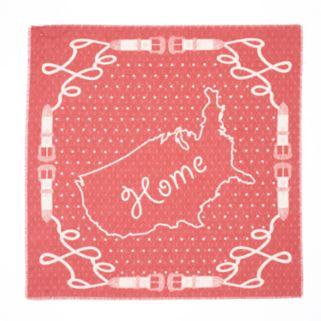 "SONOMA Goods for Life™ USA Map ""Home"" Bandana Scarf"