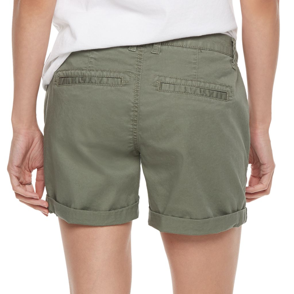 Petite SONOMA Goods for Life™ Chino Shorts