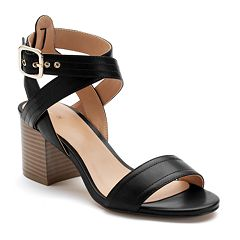 Apt. 9 Peaceful Women's Block Heel Sandals by