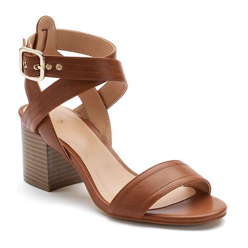 Apt. 9® Peaceful Women's Block Heel Sandals
