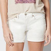 Petite SONOMA Goods for Life™ Jean Boyfriend Shorts