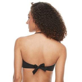 Women's S.O.S. Sun Ocean Sand Bra-Sized Bandeau Bikini Top