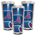 Atlanta Braves 3-Piece Shot Glass Set