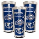 Milwaukee Brewers 3 pc Shot Glass Set