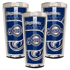 Milwaukee Brewers 3-Piece Shot Glass Set