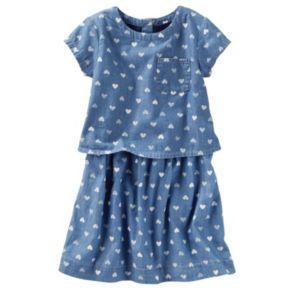 Girls 4-8 OshKosh B'gosh® Denim Heart Dress