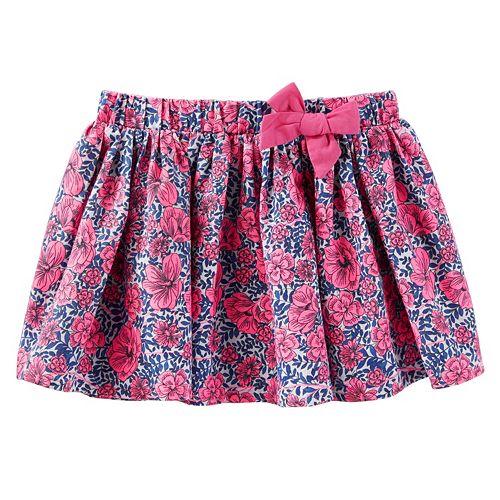 Girls 4-8 OshKosh B'gosh® Pleated Floral Skirt