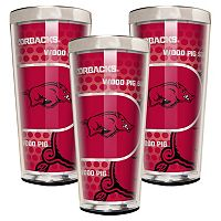 Arkansas Razorbacks 3-Piece Shot Glass Set