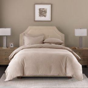 Madison Park Signature Cotton Linen Blend Duvet Cover Set