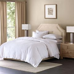 Madison Park Signature Cotton Linen Blend Duvet Cover Set